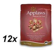 Applaws saszetki dla kota Tuna & Prawn 12x70g