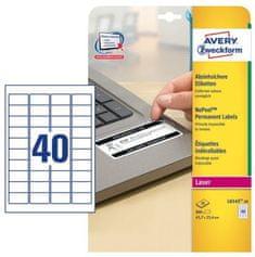 Avery Zweckform Etikete L6145-20 45.7x25.4 zavitek 20 listov