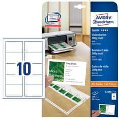 Avery Zweckform Papir za vizitke C32011-25