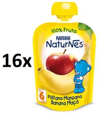 Nestlé kapsička Banán, Jablko 16x90g
