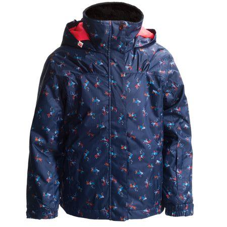 ROXY Mini Jetty Jacket Gyerek kabát, Szarvasos, 4-5