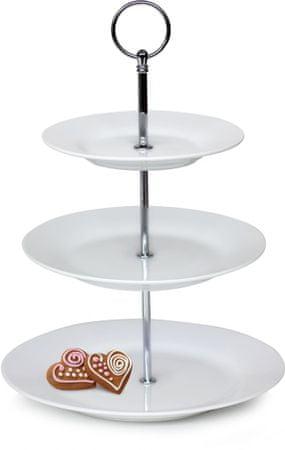 Banquet SOFIA 3 részes állvány desszertekhez