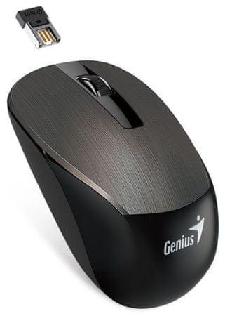 Genius NX-7015 (31030119102) Egér, Fekete/Barna