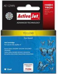 ActiveJet kompatibilna tinta za Epson T1294, žuta