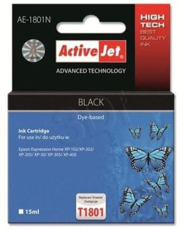 ActiveJet kompatibilna tinta za Epson T1801, crna