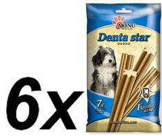 Akinu pasje palčke Denta star, 6 x 90 g