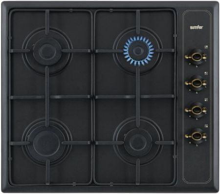Simfer plinska kuhalna plošča 6400 QGRSA