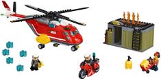 LEGO City 60108 Sürgősségi tűzoltó egység