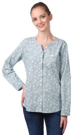 Brakeburn dámská košile s dlouhým rukávem S modrá