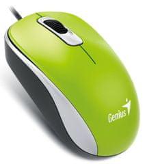 Genius DX-110, drátová, 1000 dpi, USB, zelená (31010116112)