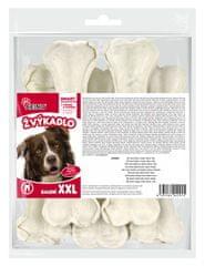 Akinu kost od kože za zube, 18 cm