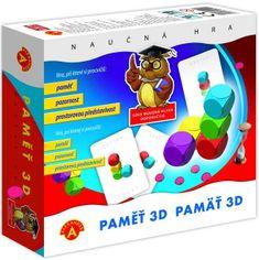 Alexander Pamäť 3D spoločenská hra