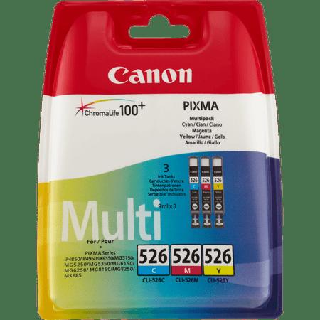Canon komplet kartuš CLI-526 C/M/Y