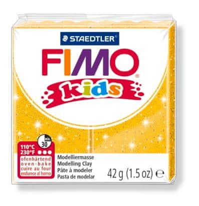 Staedtler modelirna masa Fimo kids, zlata svetleča
