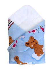COSING spalna vreča 80 x 80 cm - Medvedek, modra