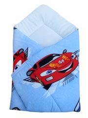COSING vreća za spavanje za bebe 80 x 80 cm - Automobili, plava