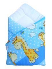COSING spalna vreča 80 x 80 cm - Žirafa, modra