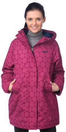 Brakeburn dámský vzorovaný kabát L růžová