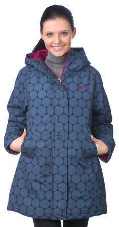 Brakeburn dámský vzorovaný kabát L modrá