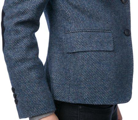 57ef091f4869 Gant dámské vlněné sako na knoflíky 42 tmavě modrá