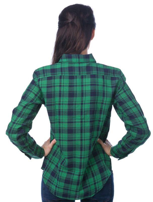 Chaps dámská kostkovaná košile L zelená - Diskuze  c1d2eb6885