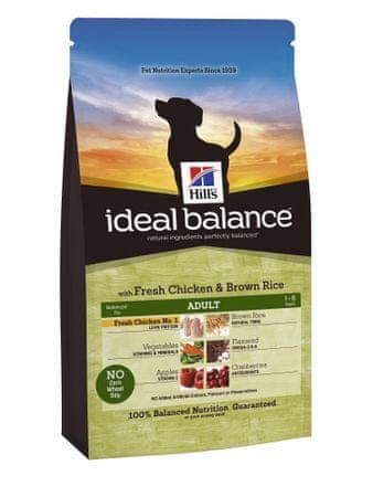 Hill's sucha karma dla psa Ideal Balance Canine Adult, Chicken & Brown rice2 kg
