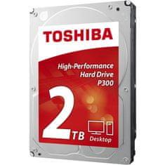 Toshiba trdi disk P300 3.5, 2TB , 7200rpm, 64MB, SATAIII