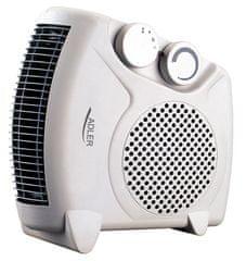 Adler električni grijač 2000W, bijeli AD77