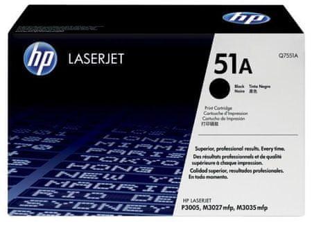 HP toner Q7551A, crni, 6.500 stranica