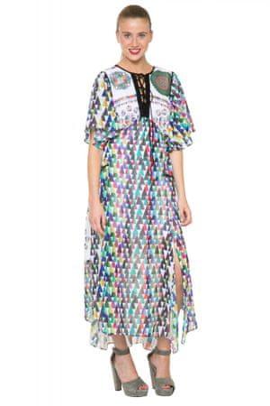 Desigual dámské vzorované šaty 38 vícebarevná