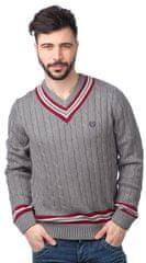 Chaps pánský svetr s kontrastními detaily