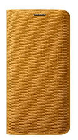 Samsung torbica za Galaxy S6 Edge, žuta