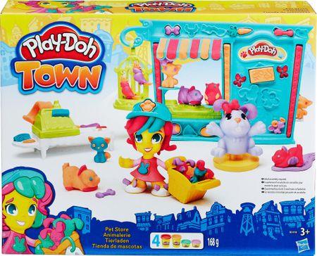 Play-Doh TOWN Sklepik ze zwierzakami B3418