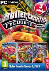 Atari Rollercoaster Tycoon 1,2,3 (PC)