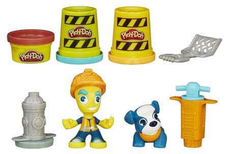 Play-Doh cestovni radnik Town