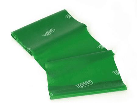 Sissel elastični trak Fitband, 1,5 m, zelen