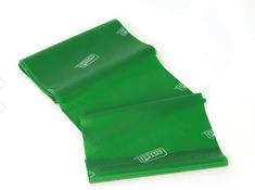 Sissel elastični trak Fitband, 2,5 m, zelen
