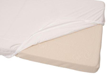 Candide Ochraniacz na materac 2v1 Tencel 40x80 cm biały