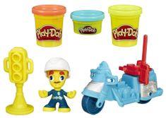 Play-Doh policist na motorju Town