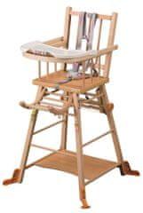 Candide Rozkládací jídelní židlička Combelle