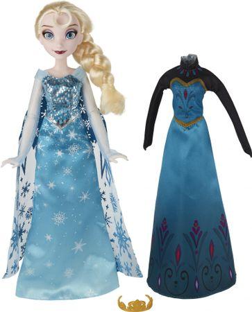 5d3d45e37eb8 Disney Frozen bábika s náhradnými šatami Elsa