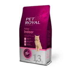 Pet Royal suha mačja hrana Cat Indoor, s piščancem, 1,3 kg