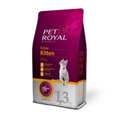 Pet Royal suha hrana za mladiče in odraščajoče mačke Cat Kitten, s piščancem, 1,3 kg