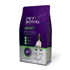 Pet Royal suha hrana za odrasle pse Adult Medium Breeds, s piletinom, 2,7 kg