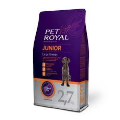 Pet Royal Junior Dog Large Breeds Kutyatáp, 2,7kg