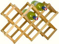 Westside Stojan na víno drevený
