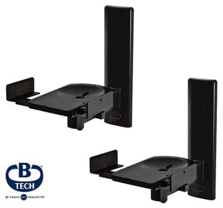 B-Tech BT77 Hangszóró tartó, Fekete