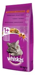 Whiskas sucha karma dla kota z wołowiną - 14 kg