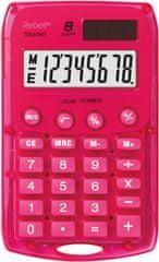 Rebell kalkulator Starlet BX, roza