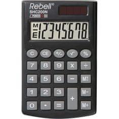 Rebell kalkulator SHC 200N, črn